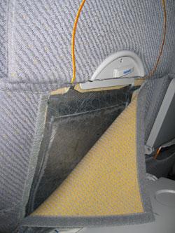 Prepreg Flugzeugsitz Leichtbau