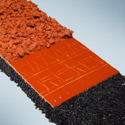 reinforcement flooring sports tartan tracks