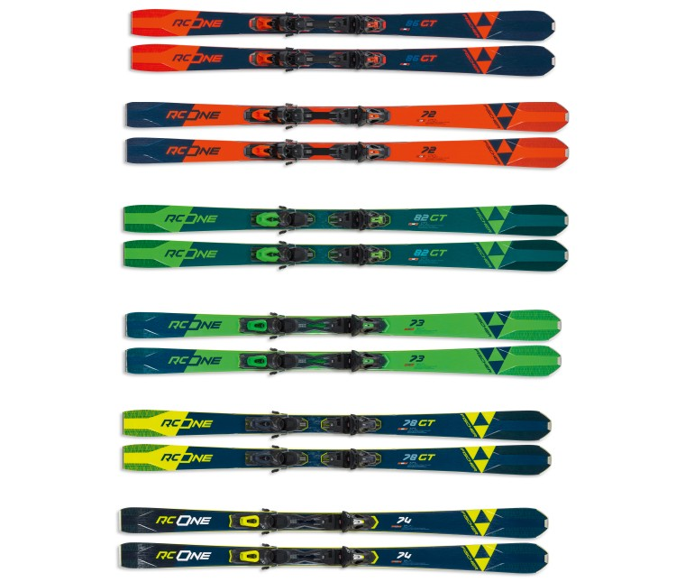 fischer ski farben rc one