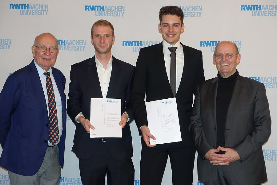 RWTH Stipendium keyser stiftung hanschke tischer